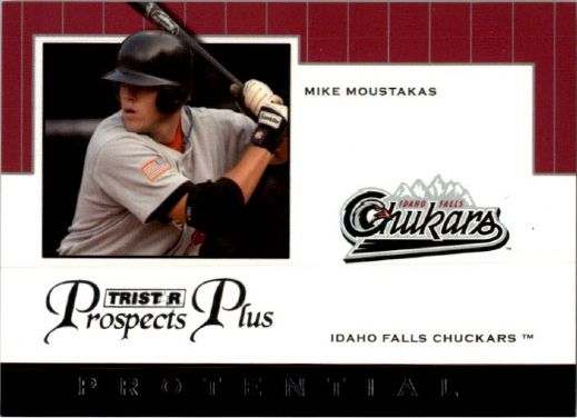 2007 MIKE MOUSTAKAS TriStar Prospects Plus Rookie PROTENTIAL RC