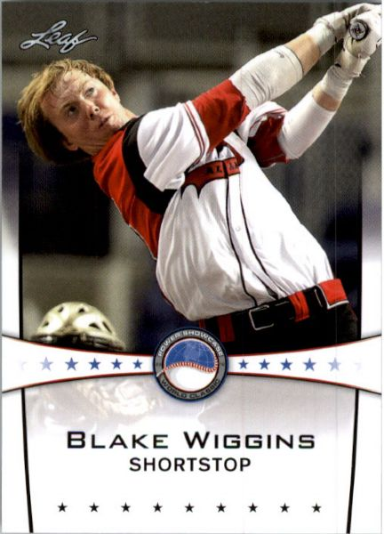 BLAKE WIGGINS 2013 Leaf Power Showcase Exclusive Rookie
