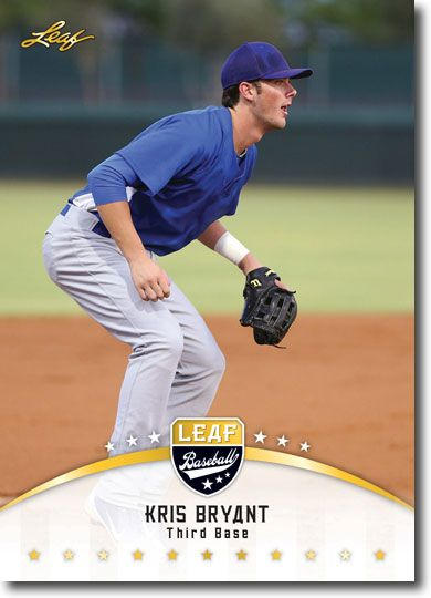 25-Ct-Lot KRIS BRYANT 2014 Leaf Rookies GOLD RCs CUBS