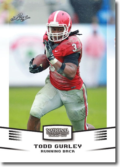 25-Ct Lot TODD GURLEY 2015 Leaf Rookie WHITE NSCC VIP Exclusive RCs